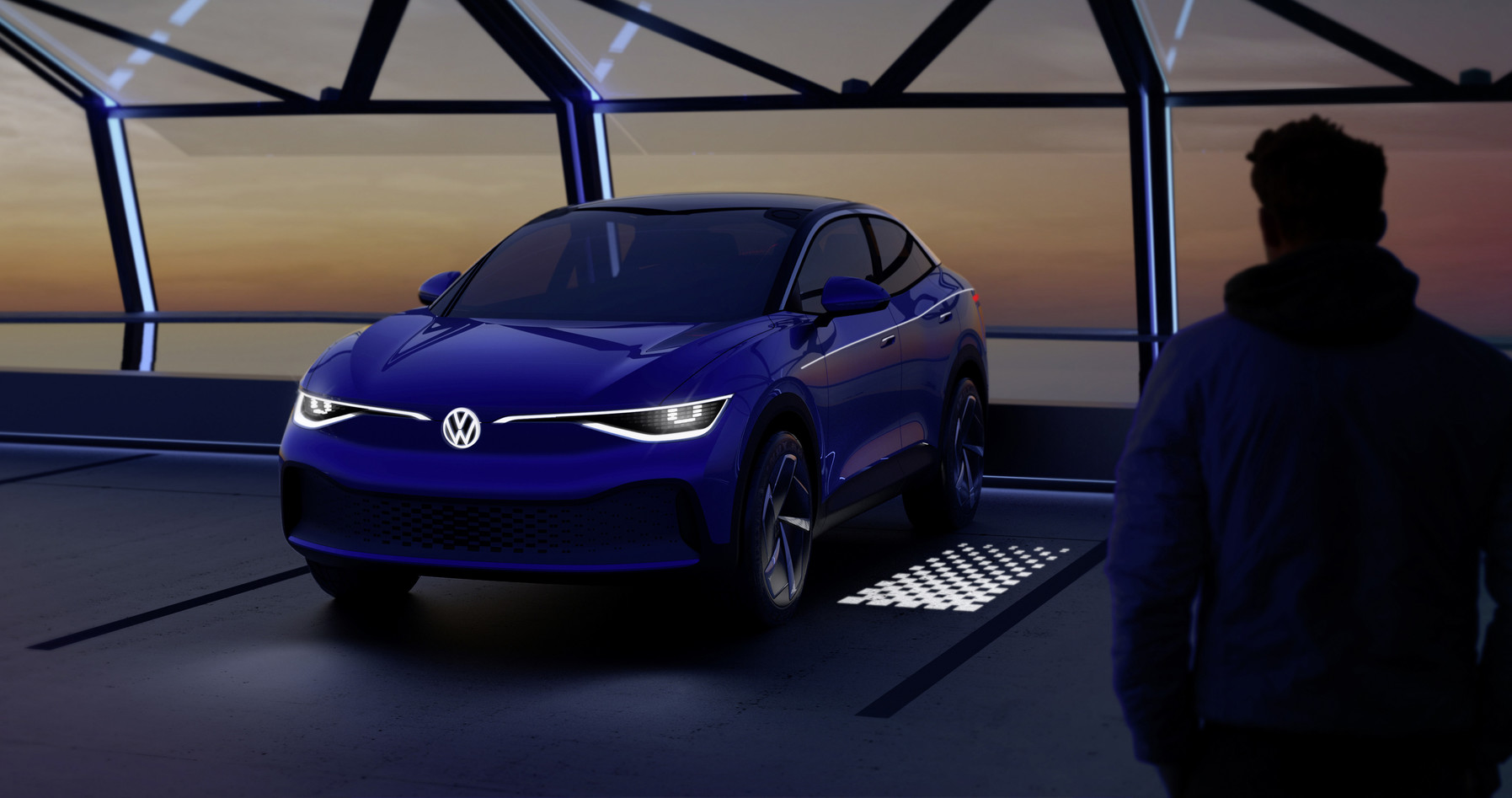 Volkswagen Shows Off Interactive Taillights and May Have
