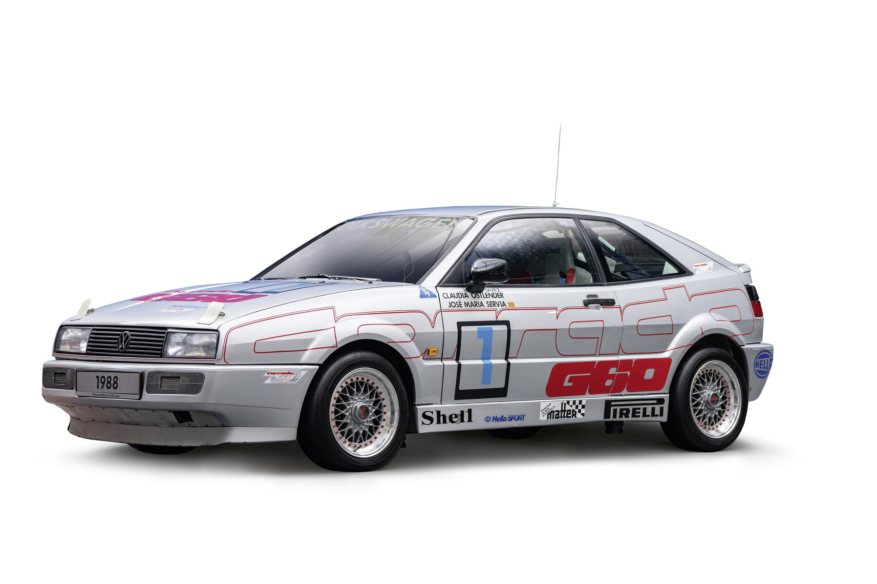 """Corrado G60 """"Record"""" (1987) - Record breaker in 1988"""
