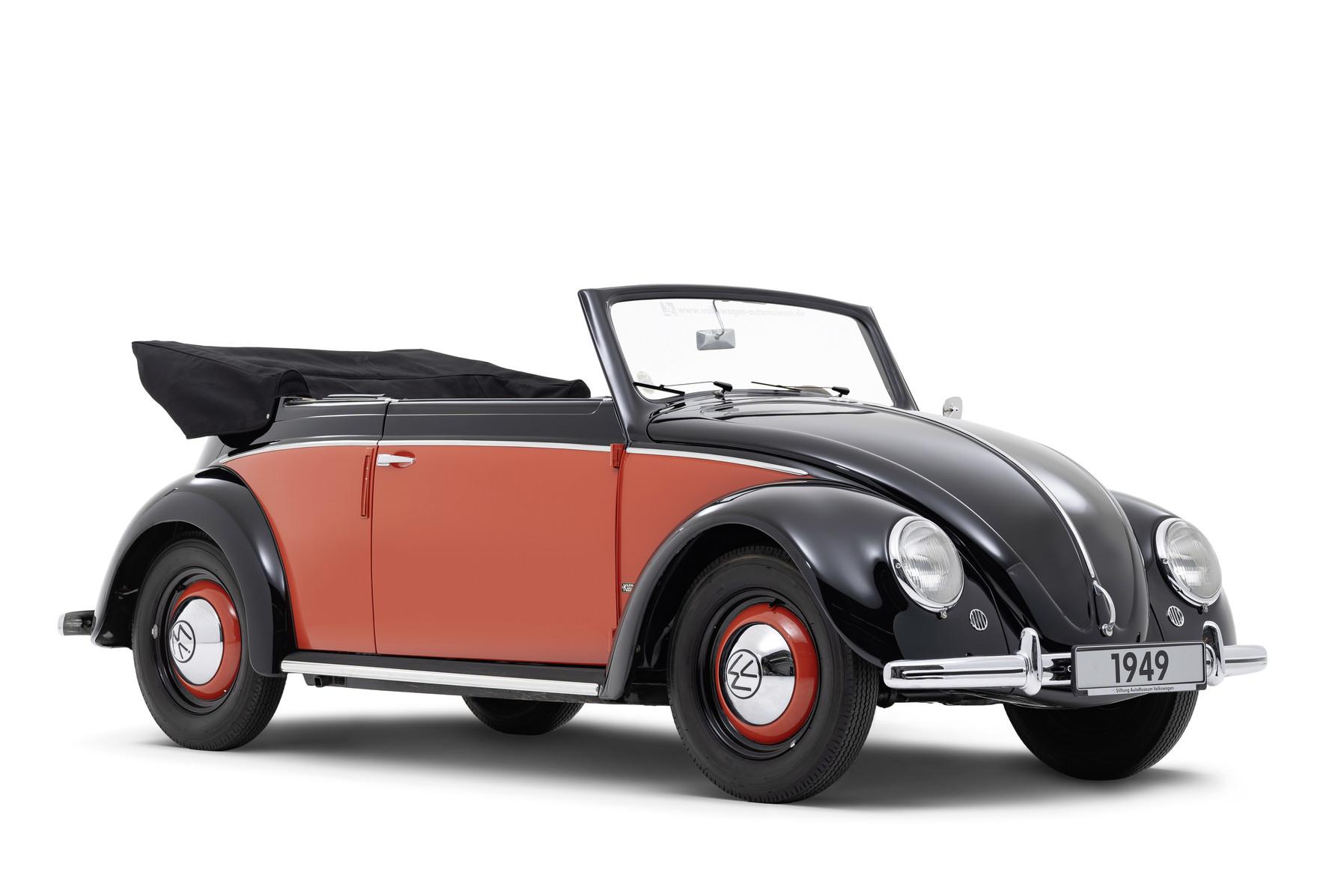 Volkswagen 1100 Karmann Cabriolet (1949)