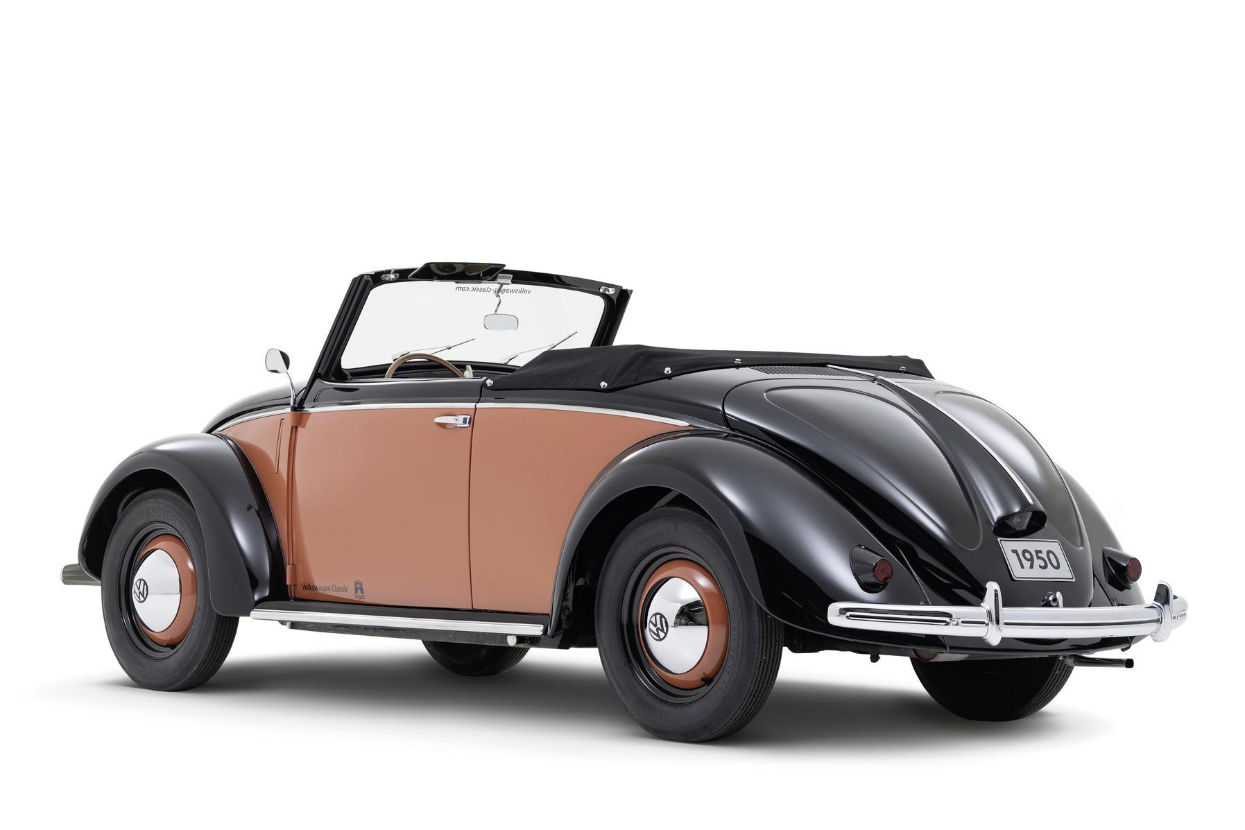 Volkswagen 1100 Hebmüller Cabriolet (1950)