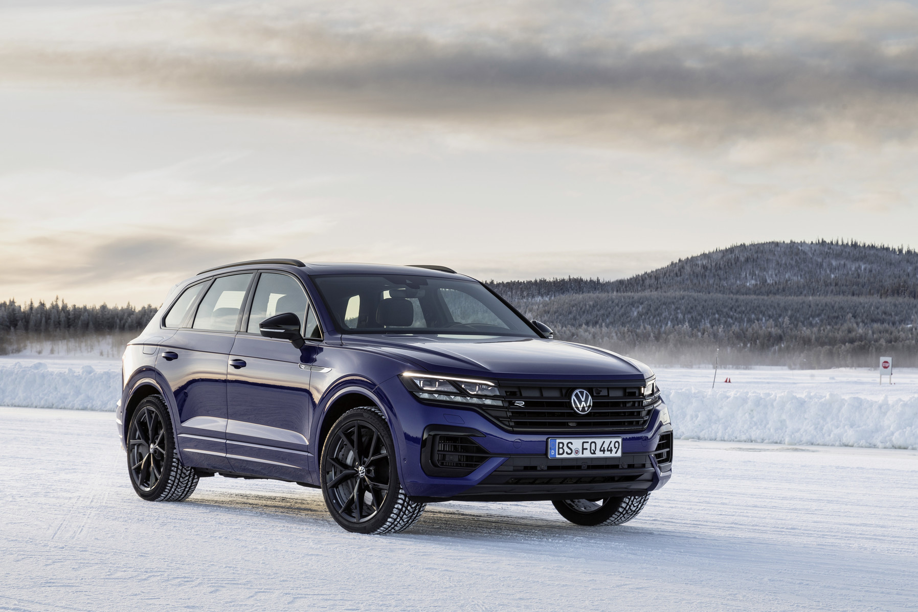 The new Volkswagen Touareg R