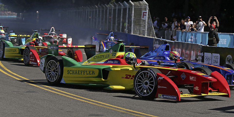 4. Lauf der Formel E in Buenos Aires: Erneuter Podiumsplatz f¸r Lucas di Grassi