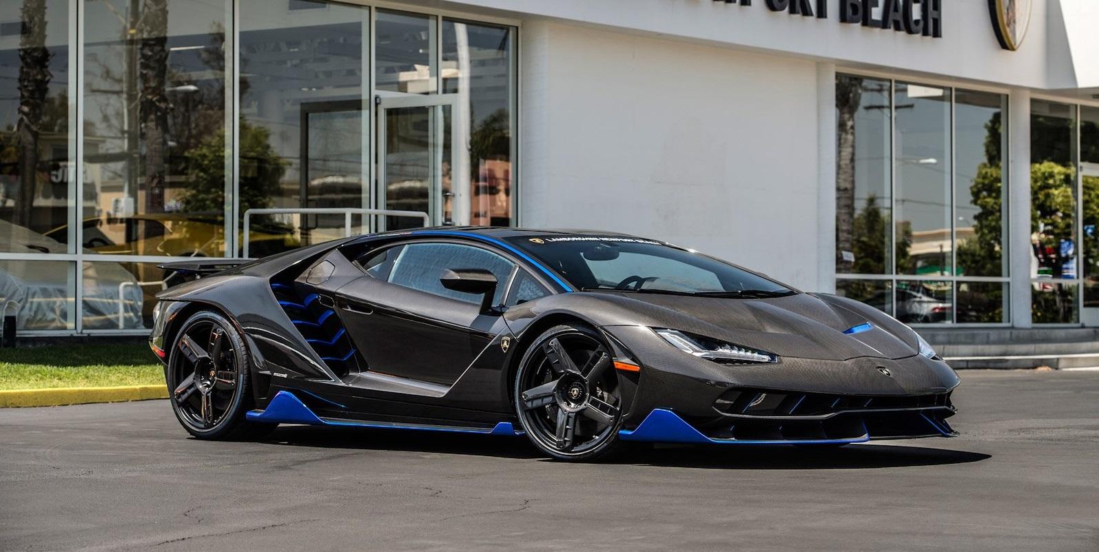 The First Lamborghini Centenario In The Us Has Arrived Vwvortex