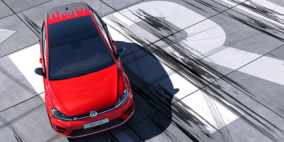 Golf R Touch Concept 960 600x300