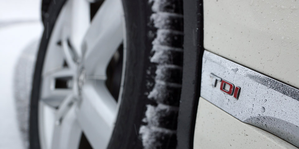 Project Touareg GTD: Snow Tires