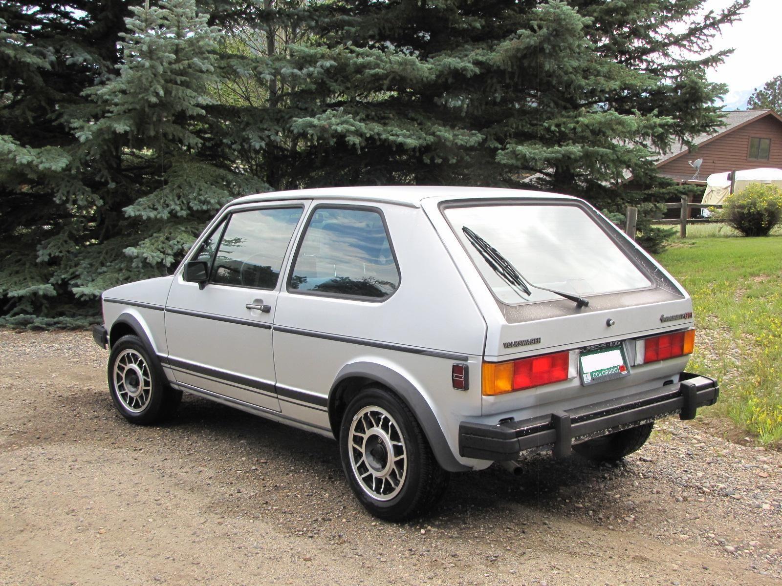 Find of the Day One Owner 1984 Volkswagen Rabbit GTI  VWVortex