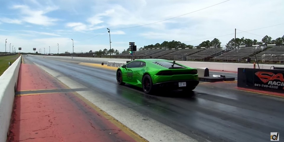Watch the World's Fastest Huracan Crush the Quarter Mile