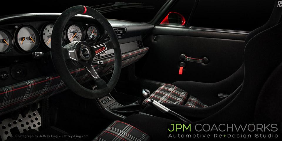 jpm coachworks porsche rwb interior recaro 960 110x60