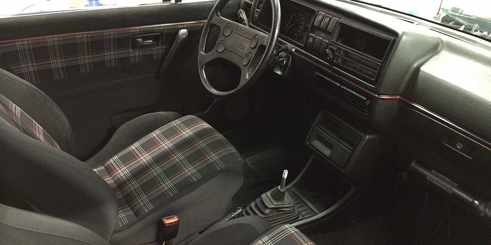 Without Removing Or Diminishing The Original Shape Of Both Seats And Door Cards JPM Managed To Create A Retro Look With Modern Materials