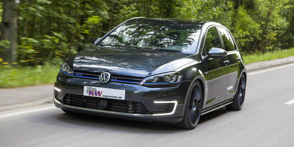 "plug-in-hybrid meets ""plug-in-driving pleasure"": kw coilover kit for"