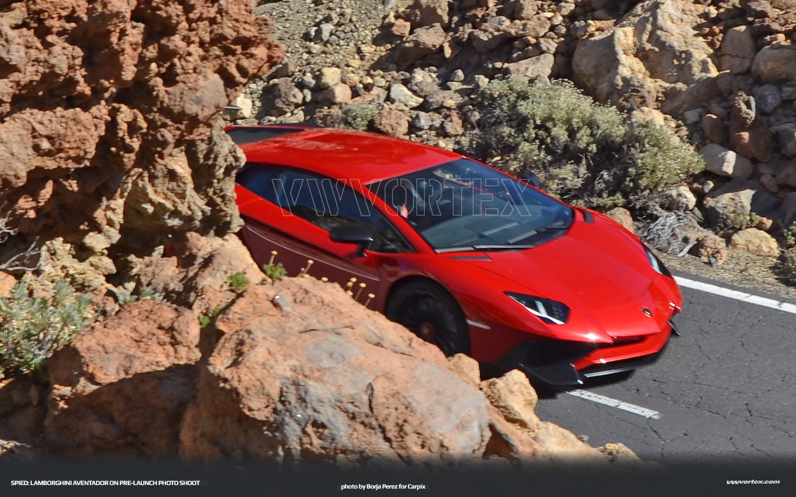 Lamborghini Aventador SV spy photo 3271 110x60