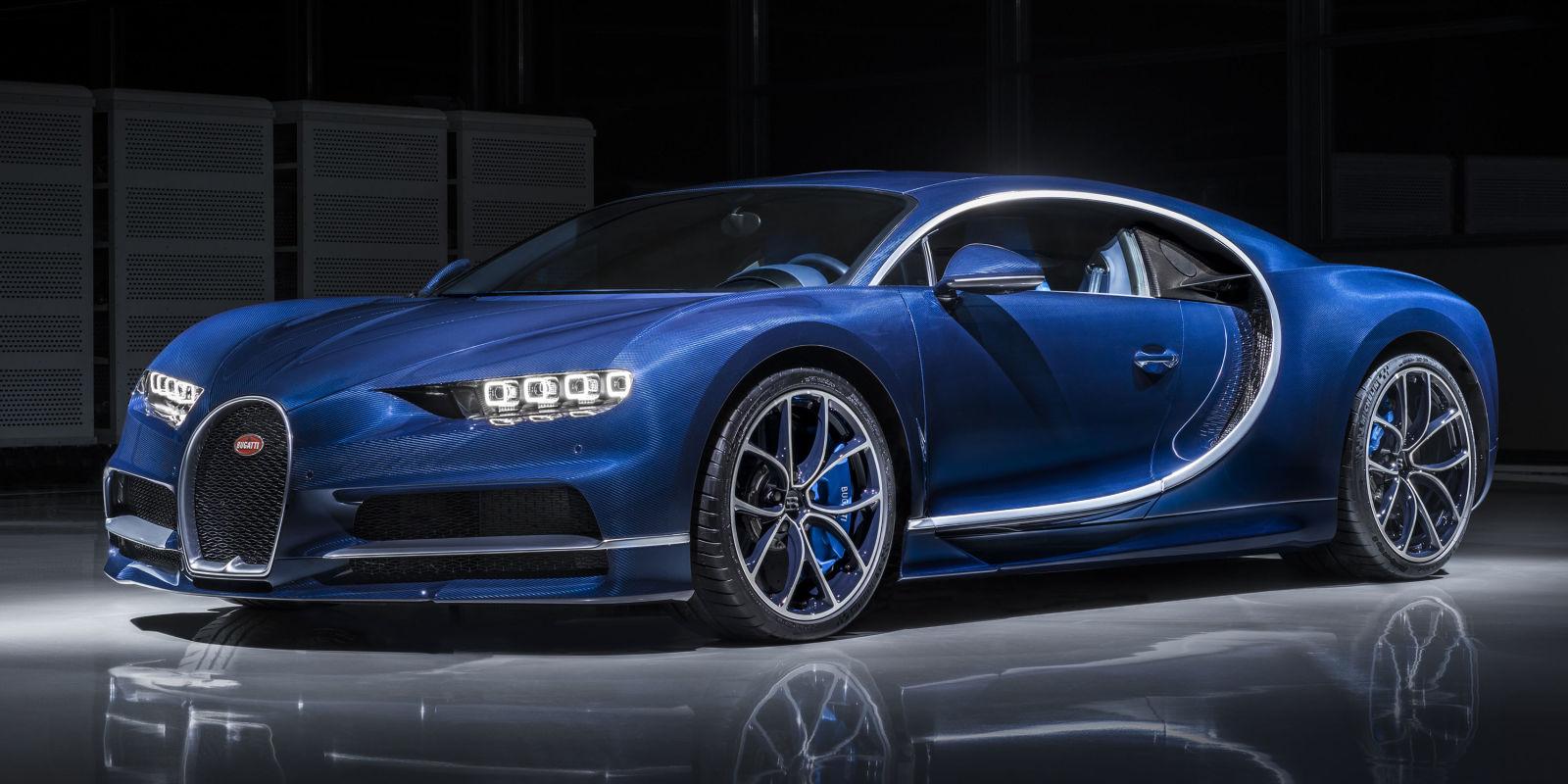 Bugatti Chiron Speed Limited by Tire Technology - VWVortex