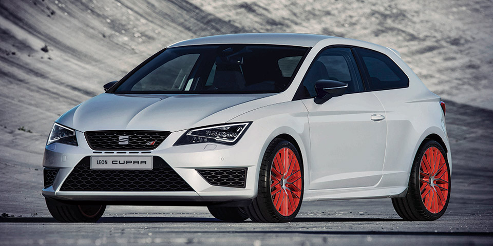 LeadImage Leon CUPRA performance pack