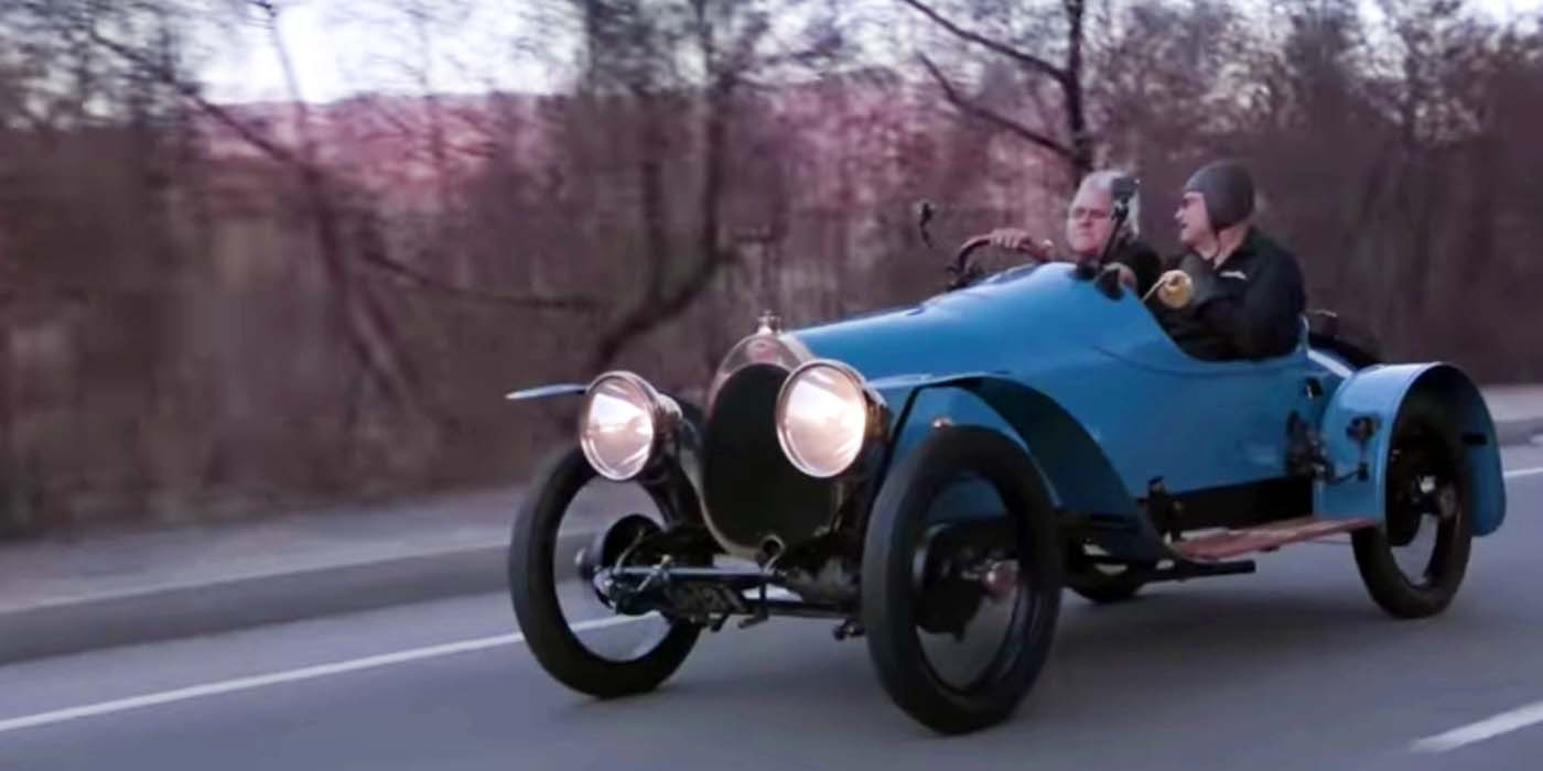 Watch: Leno in the Oldest Driving Bugatti in the World - VWVortex