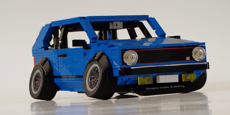 Mk1 Golf Gti Kit Submitted To Lego Ideas Website