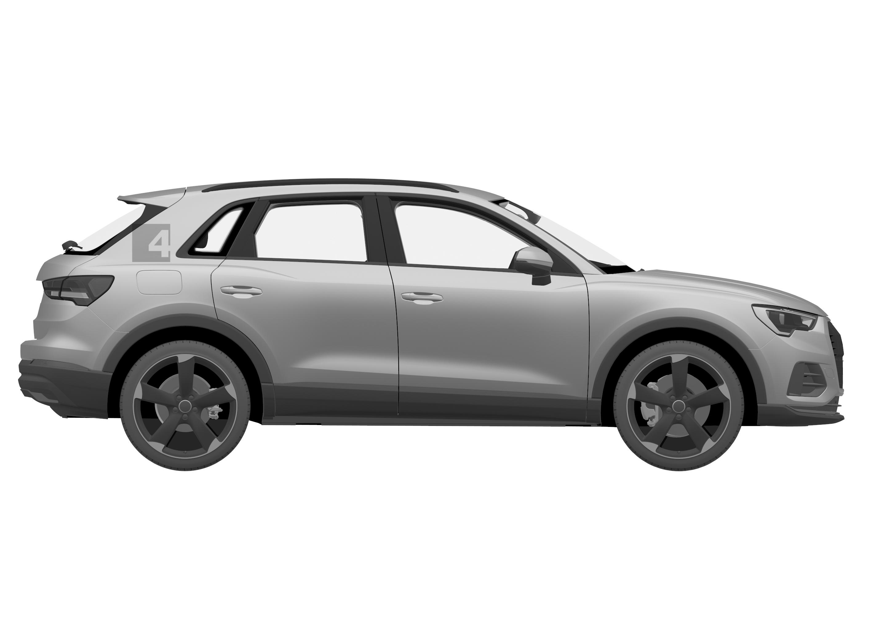 Rilberty Walk Widebody Audi A4 Avant Sema Show