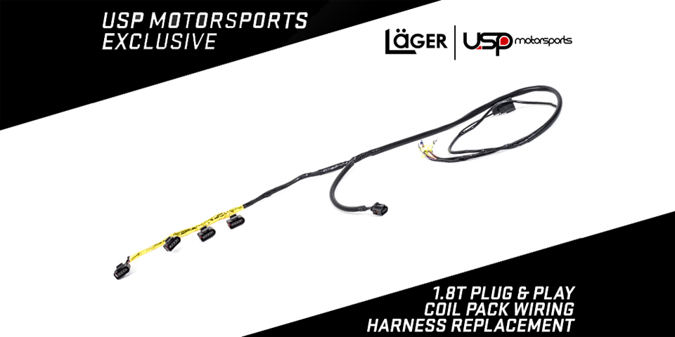 main1 coilpackharness lager1 usp motorsports presents the lager plug & play 1 8t coil pack Wiring Harness Diagram at panicattacktreatment.co