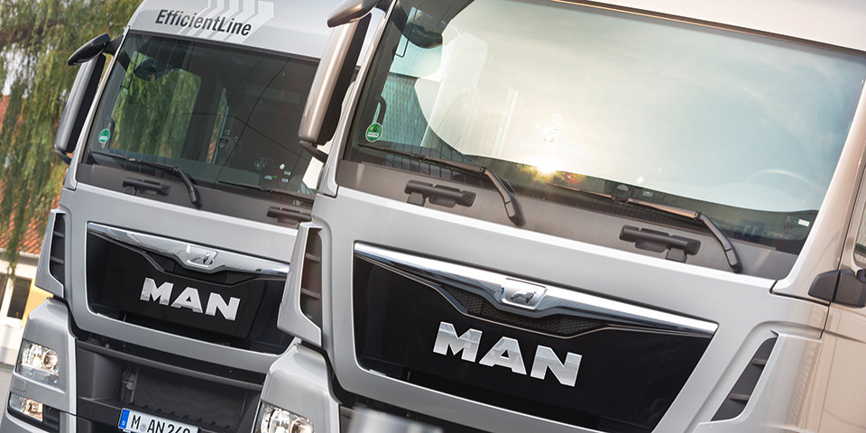 man trucks volkswagen creates 'truck & bus gmbh' holding group for commercial