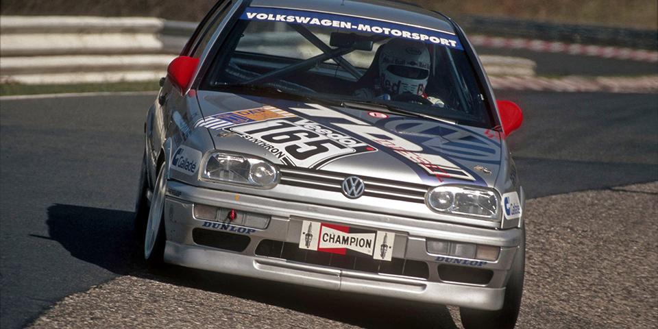 VW Golf24h Rennen Nürburgring 1997