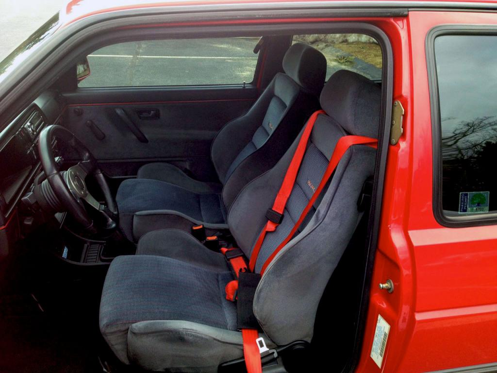 Find Of The Day 1991 GTI 16V Interior