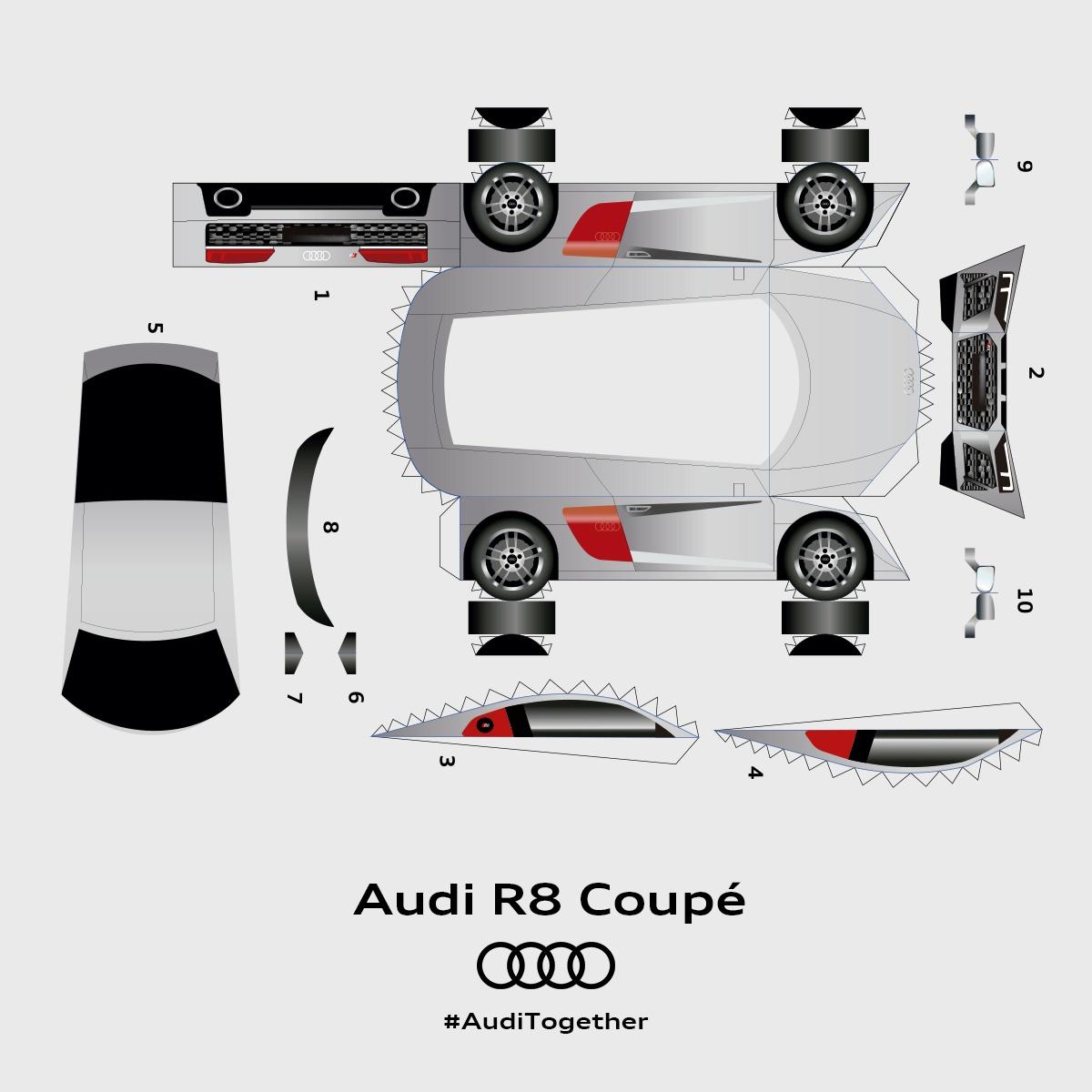 Audi Celebrates Quattro To Mayo With Quattro Cutouts