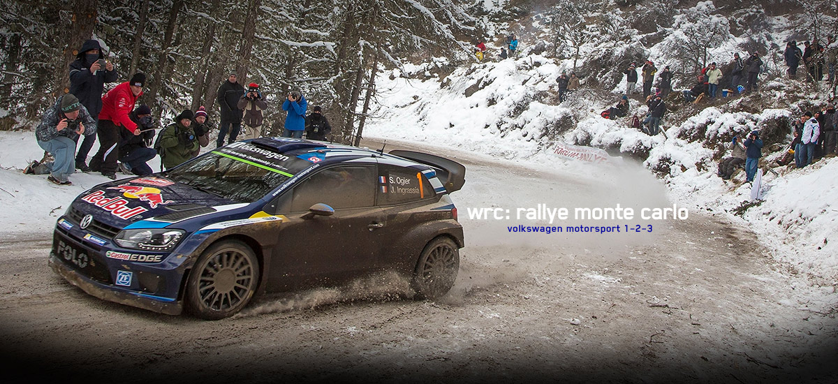 Volkswagen 1-2-3 in Rallye Monte Carlo
