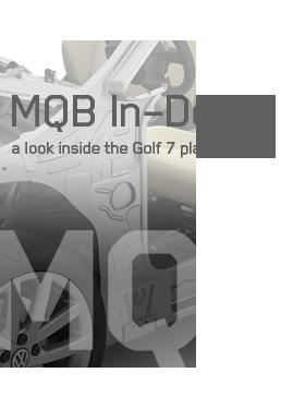 MQB Platform Indepth