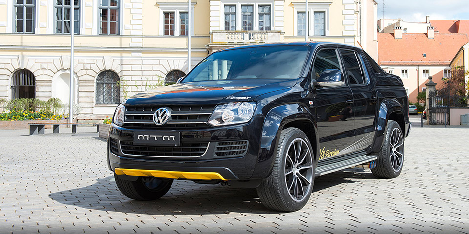 MTM Tuned Amarok Packs V8 Power - VWVortex
