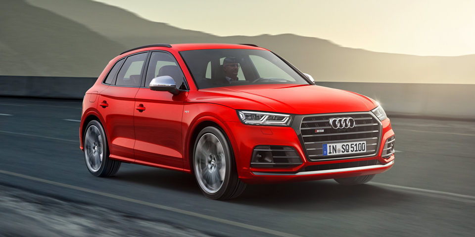 Audi Sport Is On Its Way With A Performance Version Of The Q5 And Set To Get 450 Hp 442 Lb Ft Torque Thanks Same 2 9 Liter Twin Turbo