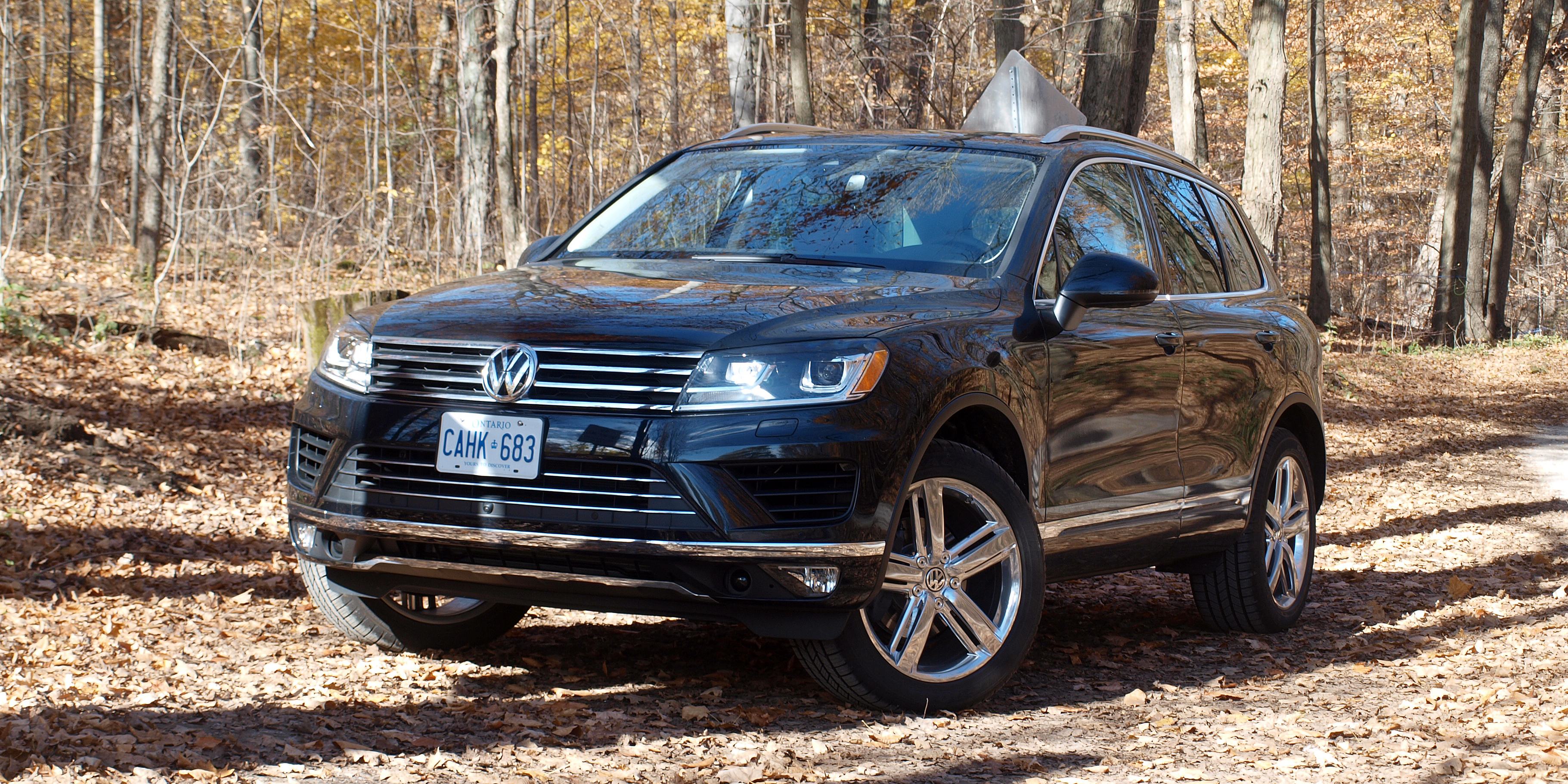 Review 2017 Volkswagen Touareg