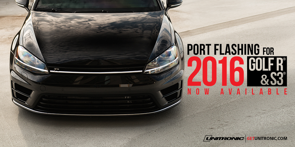 Port Flashing for 2016 GolfR and S3 Now Available