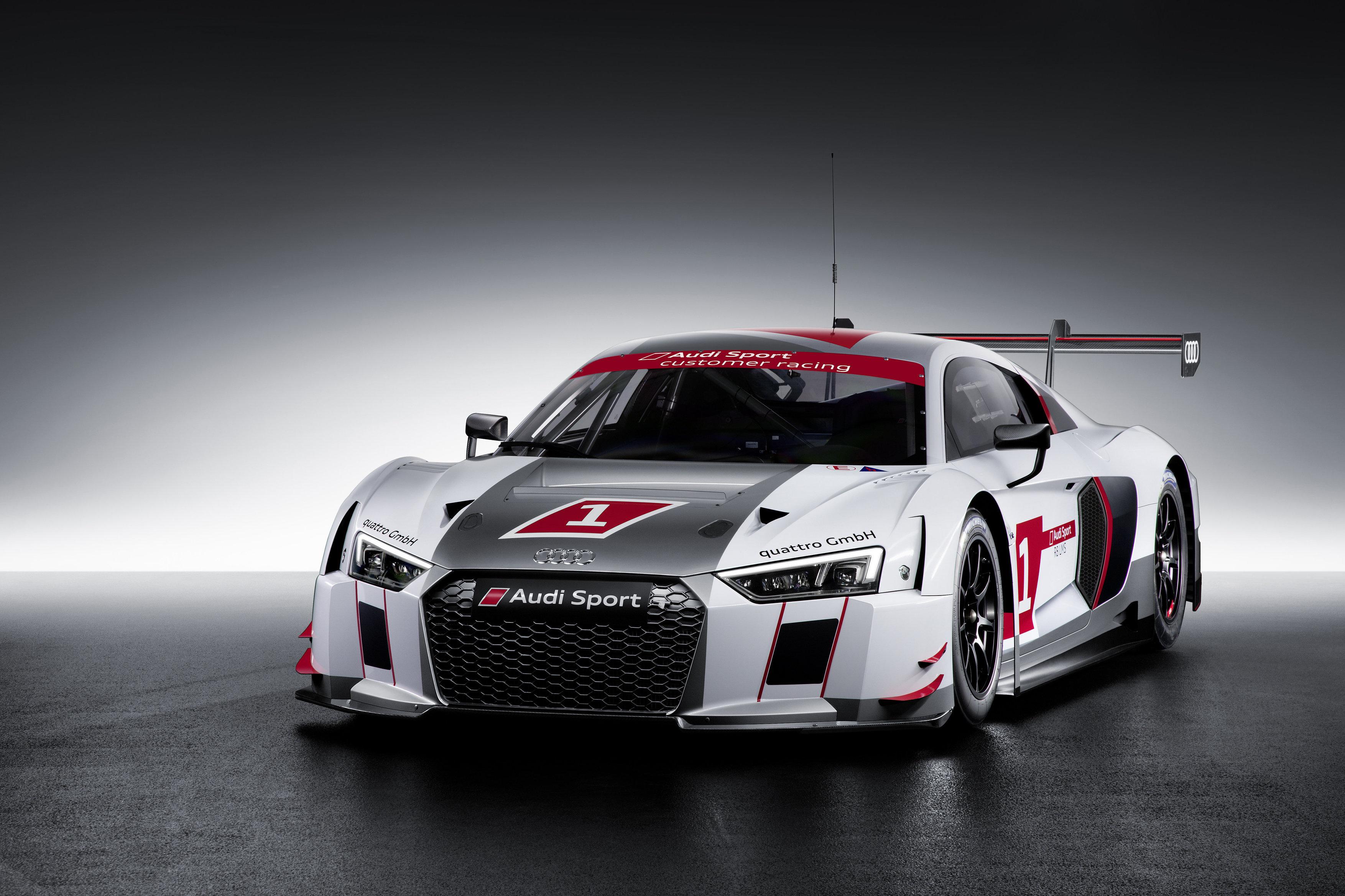Audi R8 LMS establishes new race car generation