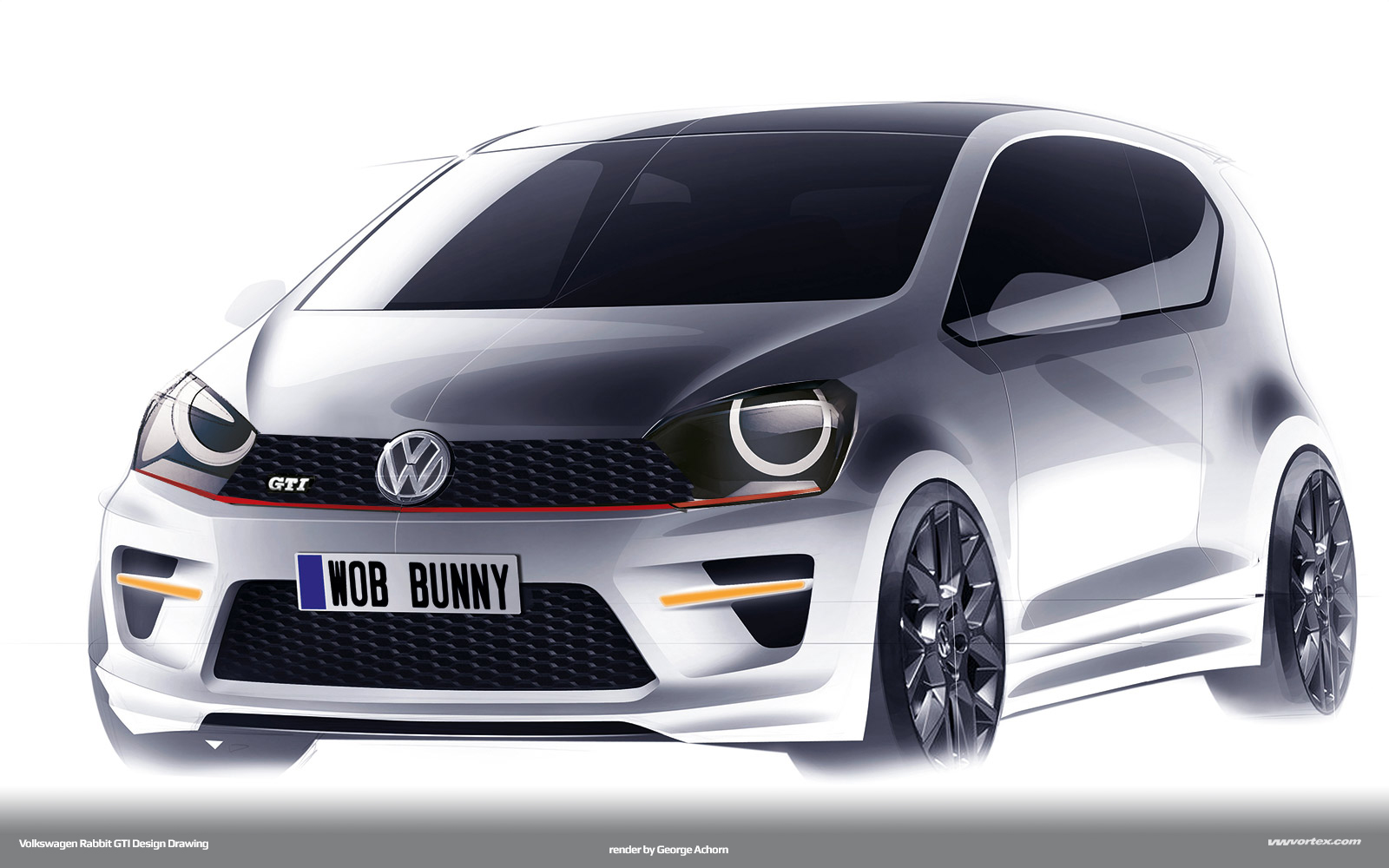 Rabbit GTI Proposal (render by VWVortex)