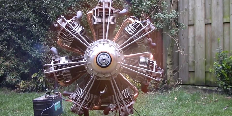 radial aircooled 110x60