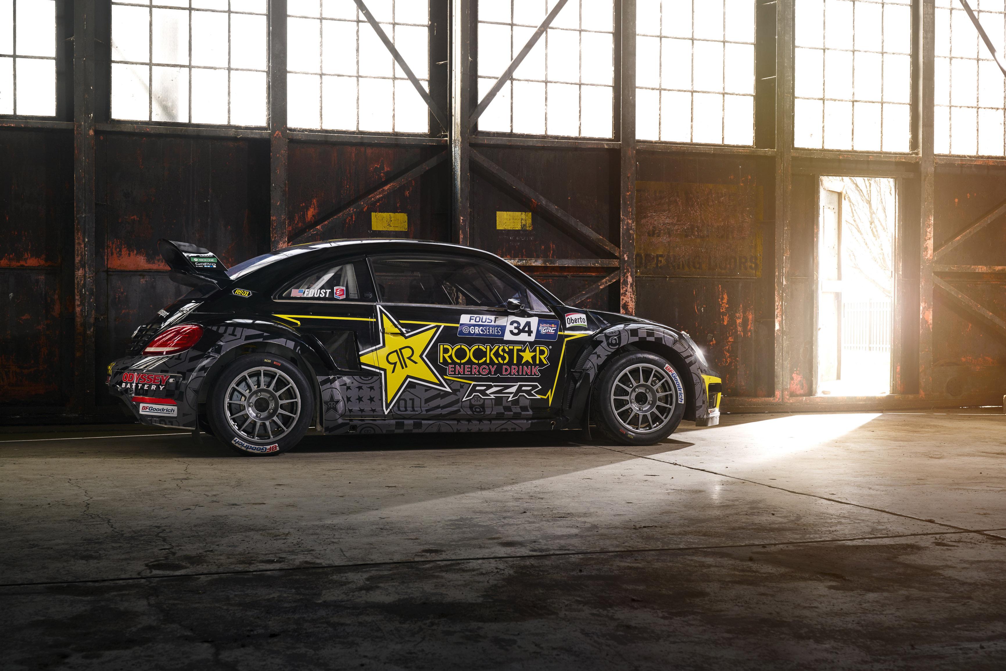 Tanner Foust Vw >> Tanner Foust To Return To Vw Beetle For 2019 Rallycross