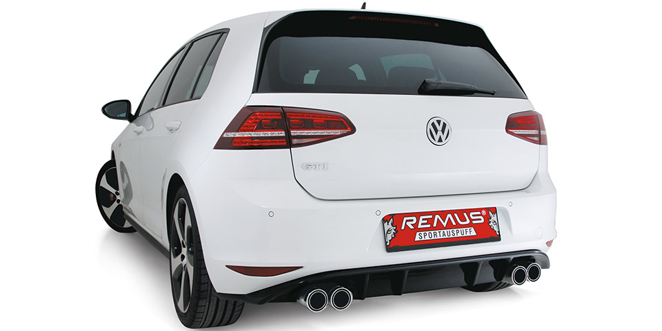 Remus VW Golf VII GTI 600x300