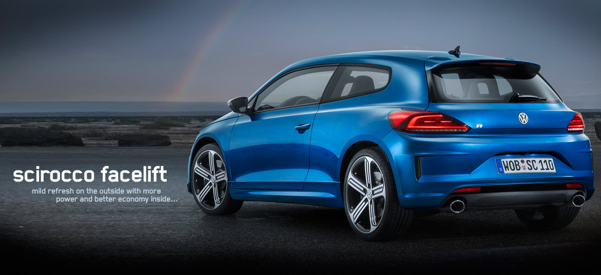 scirocco facelift hp