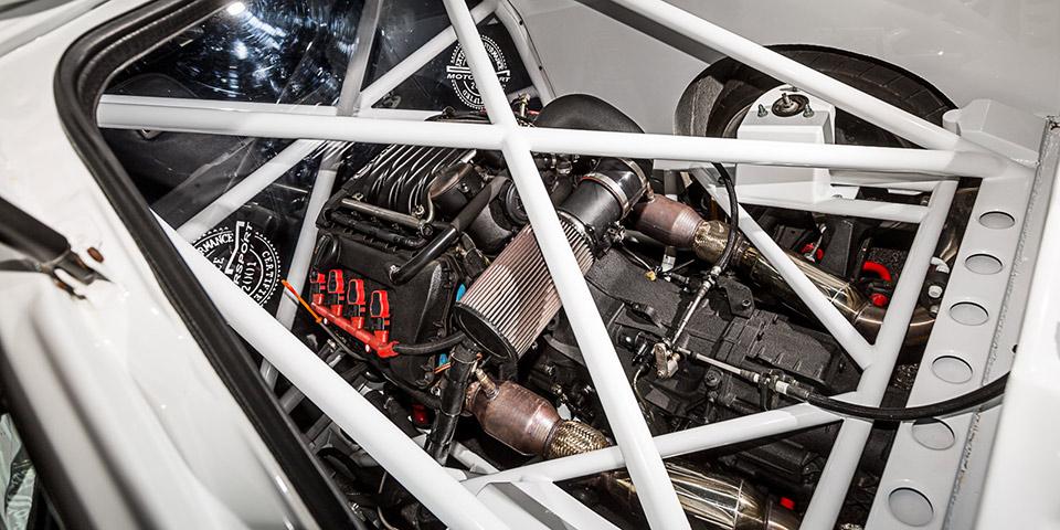 Audi B8 big weave carbon fiber trim OCarbon 488 110x60 photo