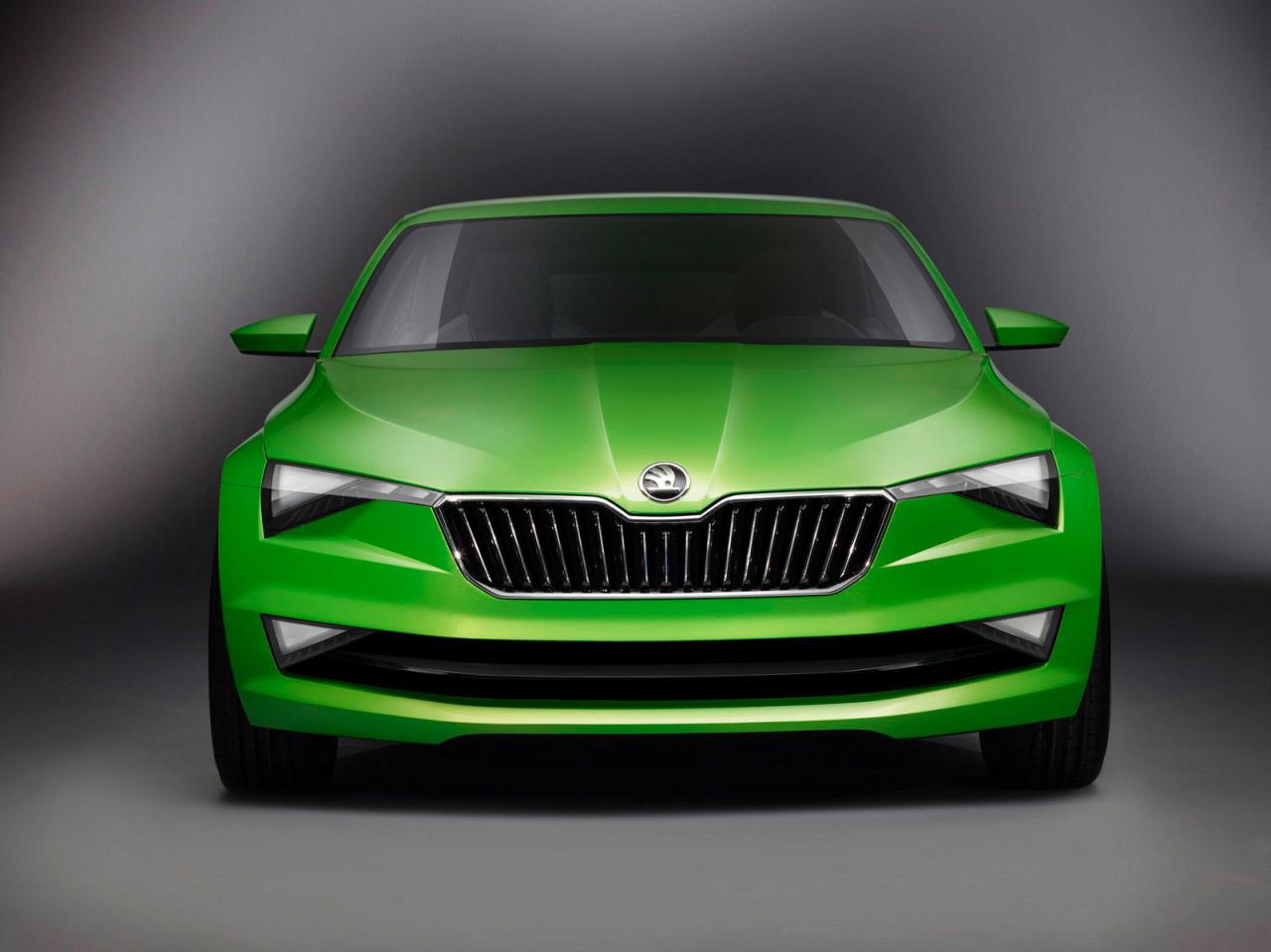 Skoda Vision C Concept 2014 1 600x449