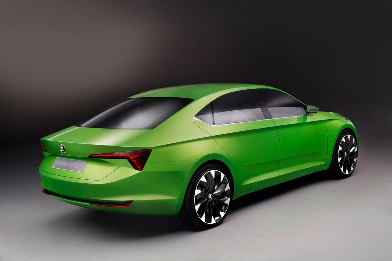 Skoda Vision C Concept 2014 2 600x399