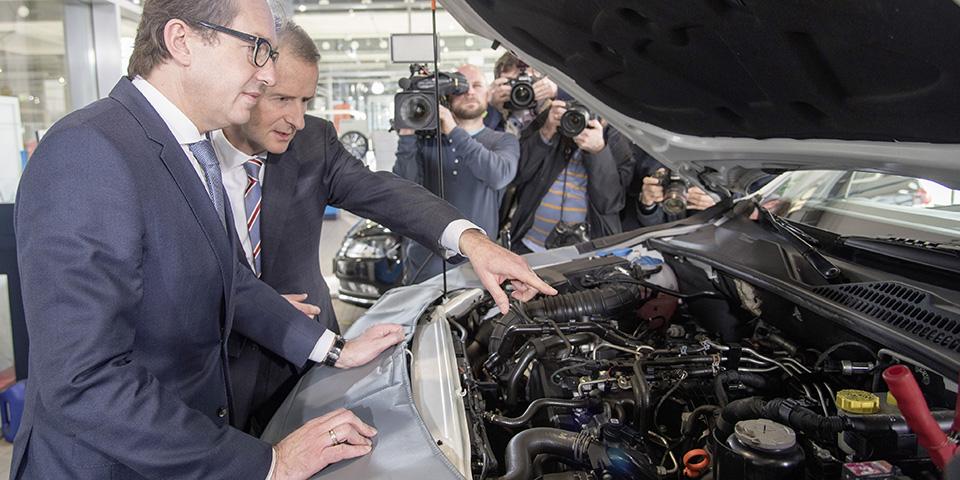 Volkswagen beginnt in Europa mit der Umsetzung der technischen Maflnahmen bei den EA189-Dieselmotoren