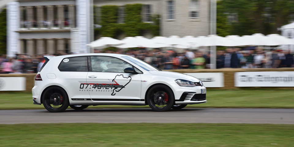The Golf GTI Clubsport S at Goodwood 2016