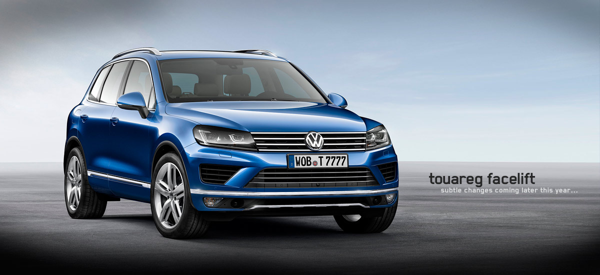 touareg facelift hp
