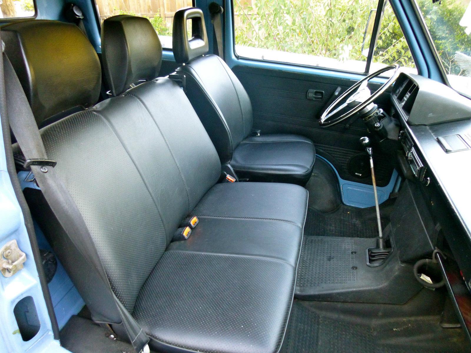 Find of the Day: 1982 Volkswagen Vanagon Doka - VWVortex