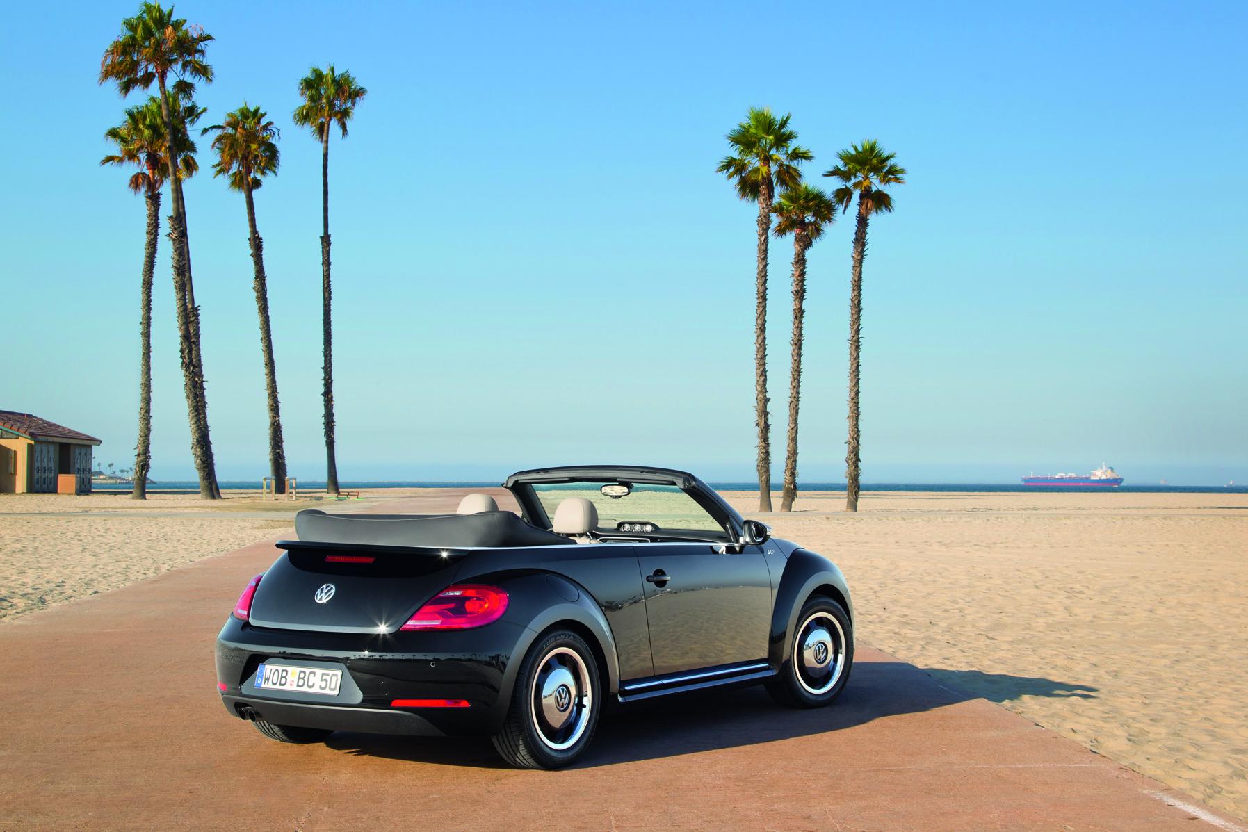 Das neue Volkswagen Beetle Cabriolet/50s Edition