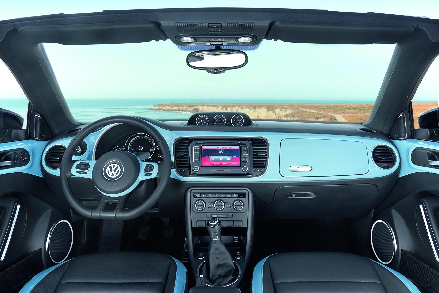 Das neue Volkswagen Beetle Cabriolet/60s Edition