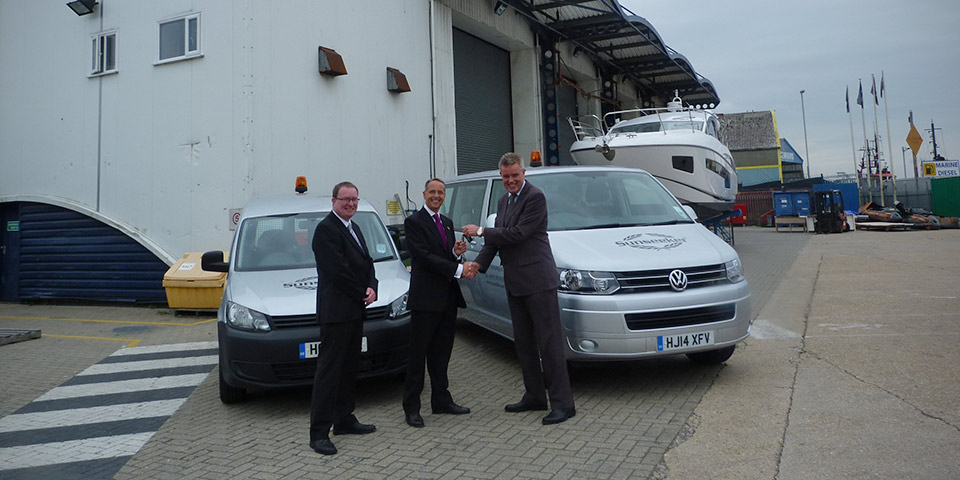 VOLKSWAGEN COMMERCIAL VEHICLES MAKES WAVES WITH SUNSEEKER INTERNATIONAL DEAL 110x60