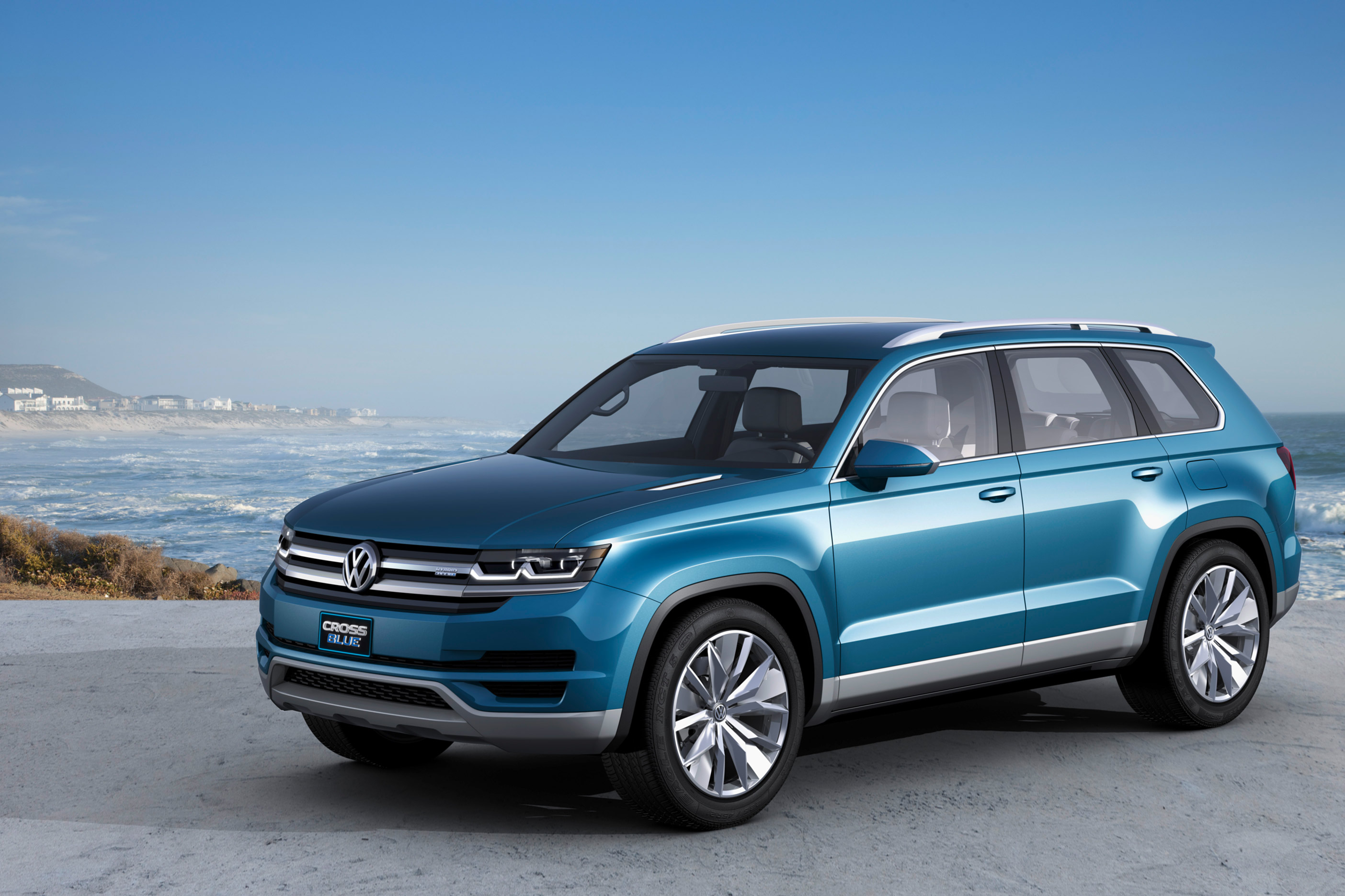 volkswagen cross blue concept 3 vwvortex