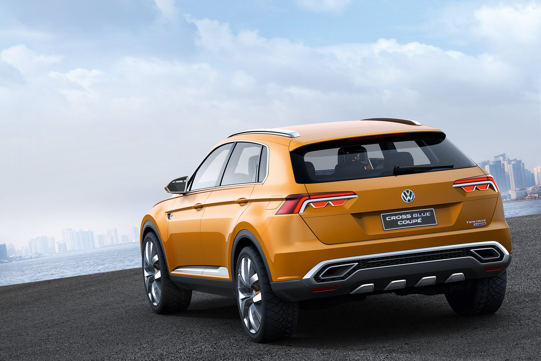 Volkswagen crossblue coupe concept 009