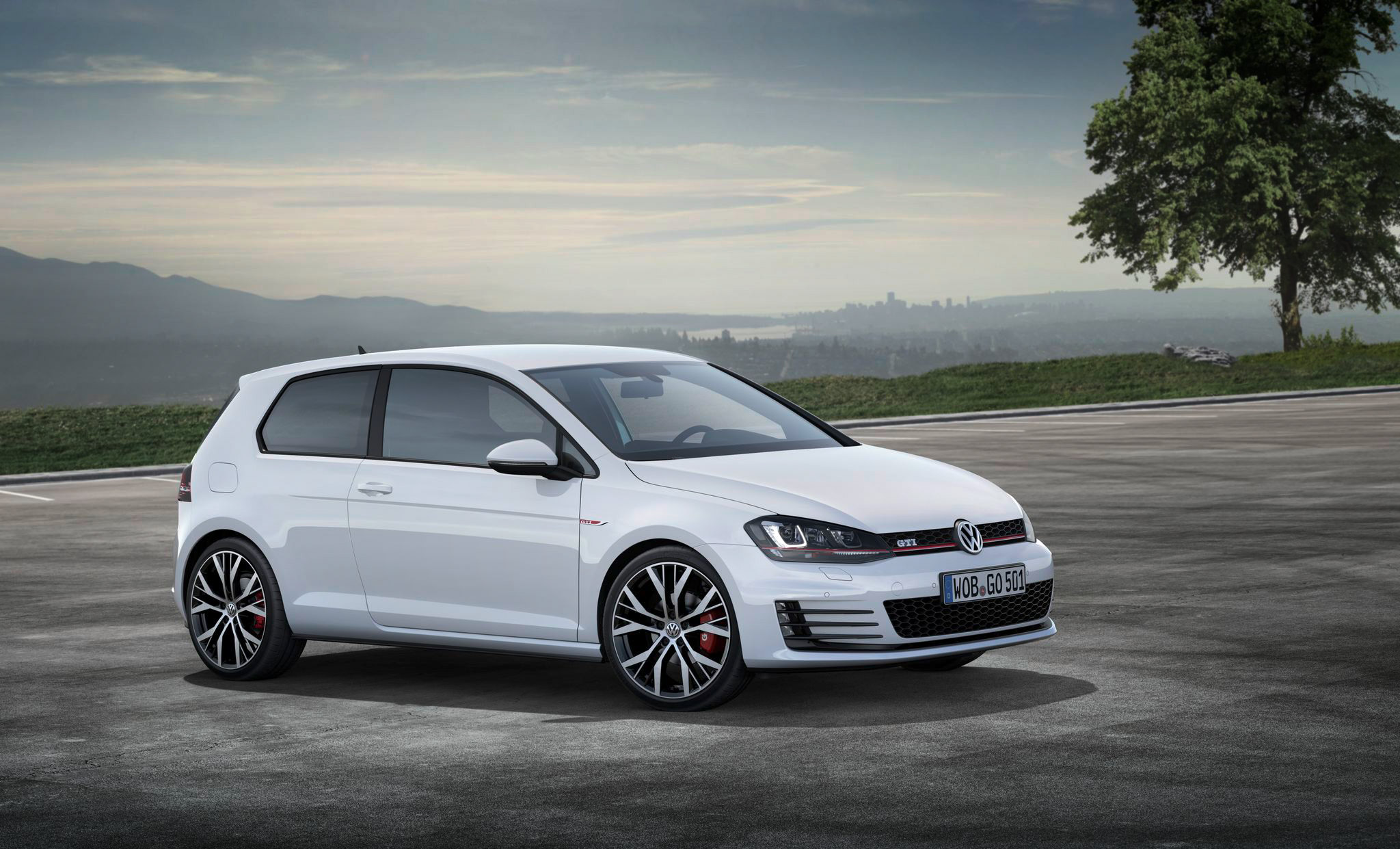 first official photos of the golf gti vii golf mk7 forum. Black Bedroom Furniture Sets. Home Design Ideas